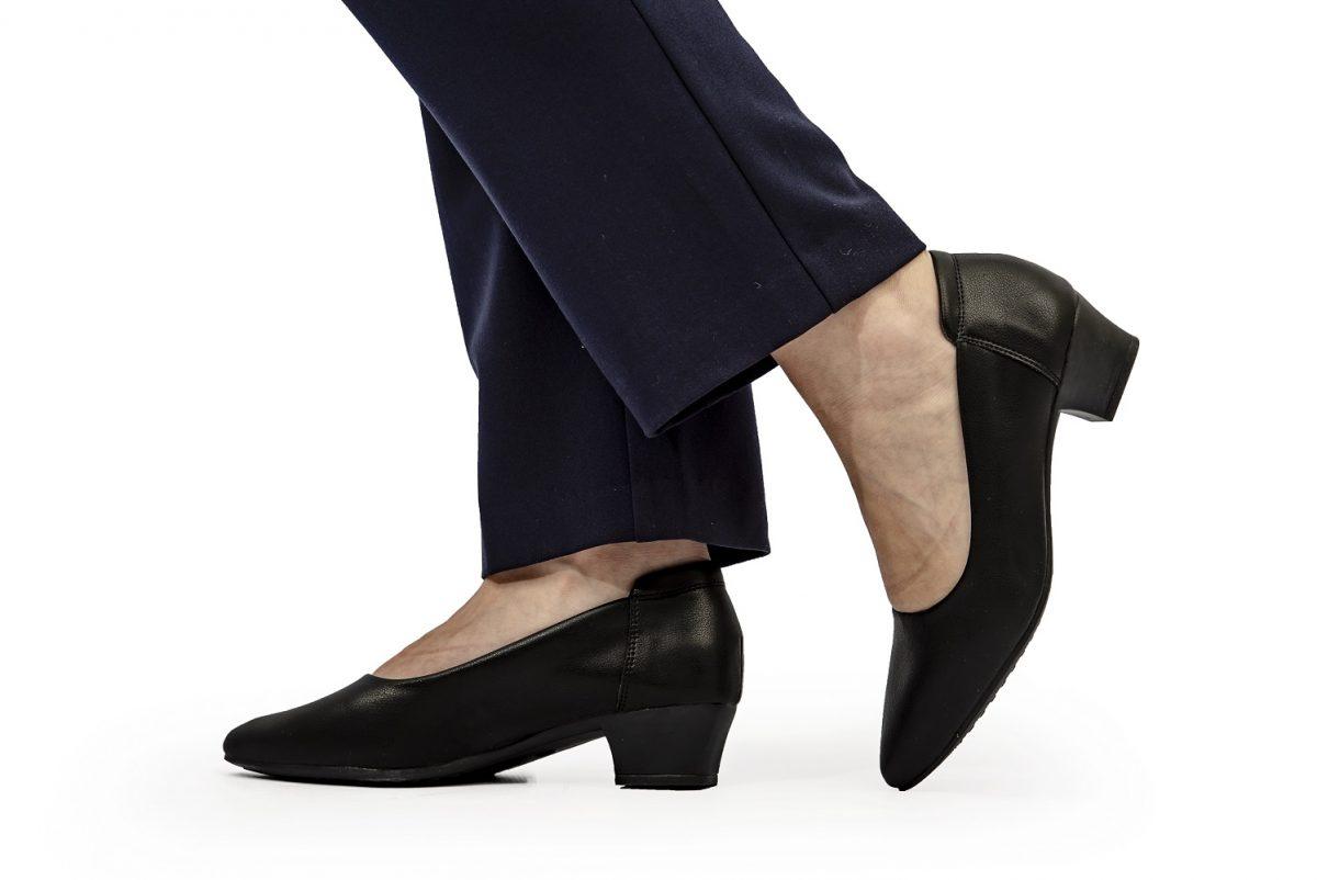 4cm pointed court heel