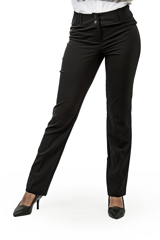 Ladies straight leg pants black