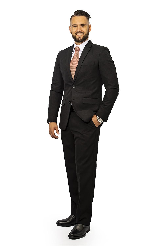 Mens full suit black