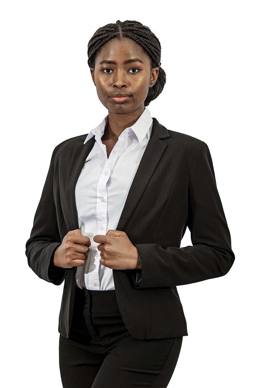Ladies corporate jacket black
