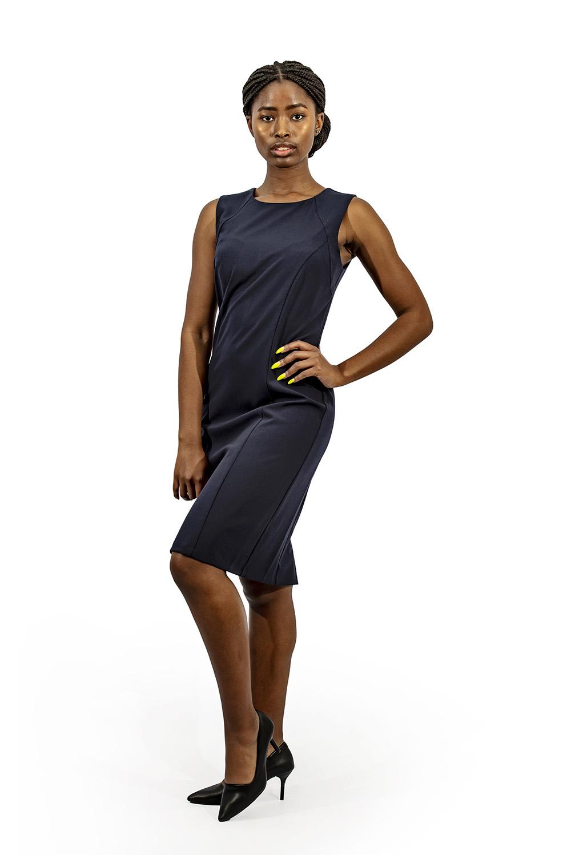 Ladies corporate shift dress