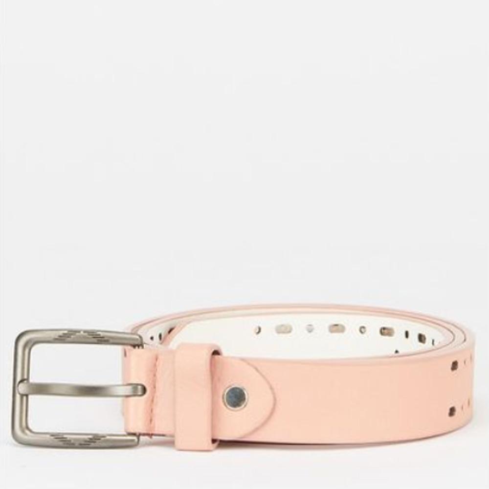 Jeans belt pink