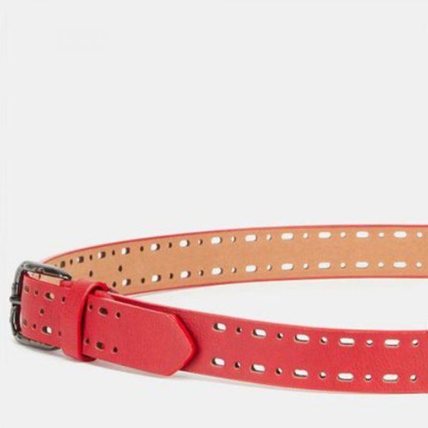Jeans Belt Red