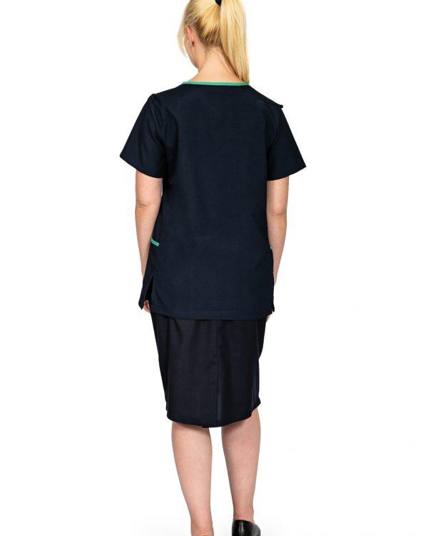 Elasticated skirt back