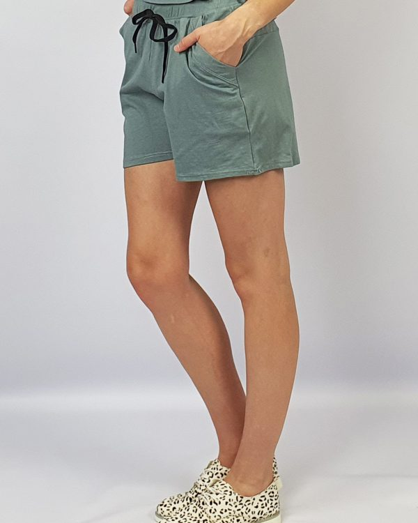 Track Shorts grey side