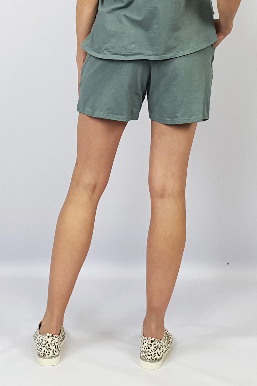 Track Shorts grey back