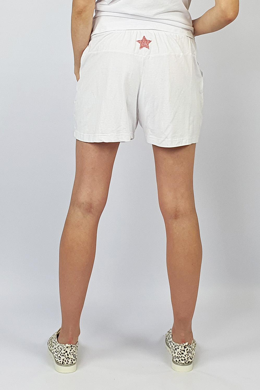 Track Shorts white back