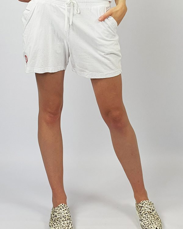 Track Shorts white front