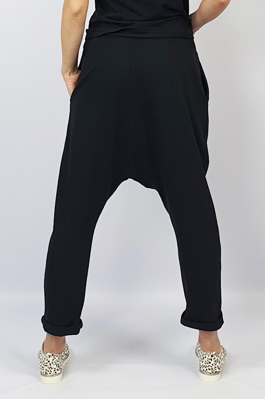 Harem Pants black back