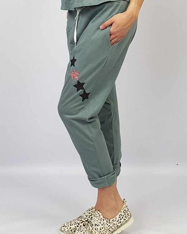 Harem Pants grey side