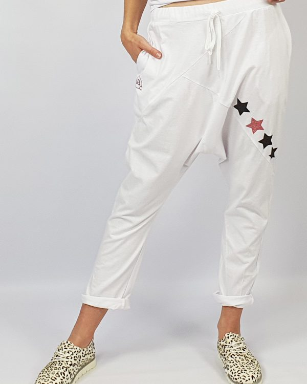 Harem Pants white front