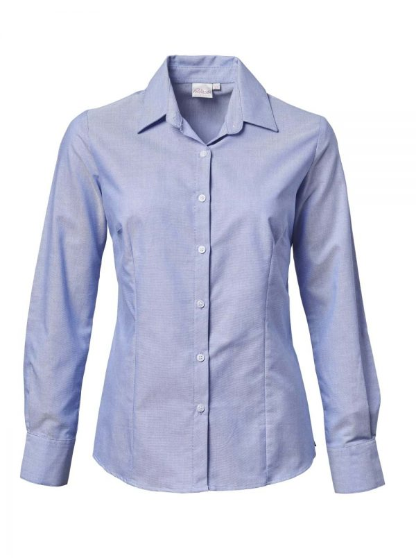 Ladies Chanel Long Sleeve Blouse Blue