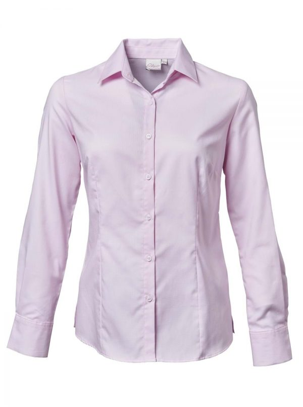 Ladies Chanel Long Sleeve Blouse Pink