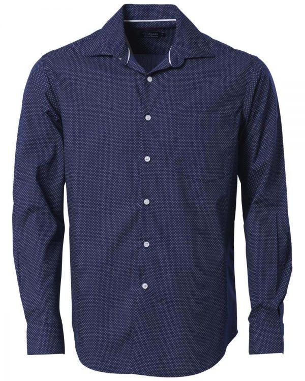 Mens Cullinan Long Sleeve Shirt Navy