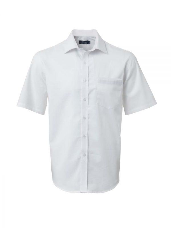 Mens Miller Short Sleeve Shirt White